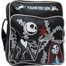 the nightmare before retro pvc shoulder bag nbx nbc