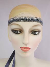 beaded headband beaded headband 1920 s style ribbon headband accessories