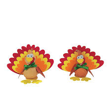 gourd turkey craft kit orientaltrading but would be easy to