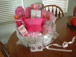 cancer gift baskets scented gold breast cancer awareness gift basket