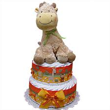 baby giraffe diaper cake 85 00 diaper cakes mall unique baby