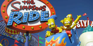go on the simpsons ride at universal studios hollywood