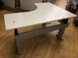 Electric Sit To Stand Desk by Table Appealing Wonderful Adjustable Height Corner Desk Electric