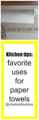 kitchen tips bounty paper towels created by diane