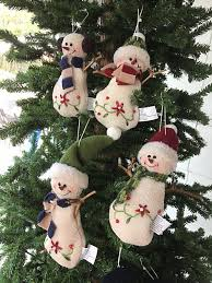 country snowman ornaments fancy rectangle ornaments from the