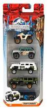 jurassic park car toy matchbox jurassic world 1 64 vehicle 5 pack most popular kids toys