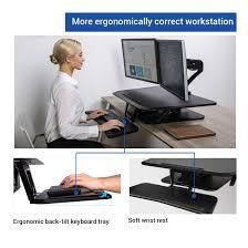 Compact Computer Desk Standing Desk Converters Compact Series 32
