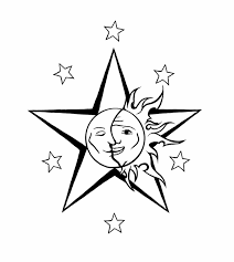 collection of 25 sun and moon designs