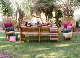 bohemian wedding rentals botanica specialty rentals