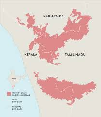 Kerala India Map by Co Existing With Pachyderms Wwf India