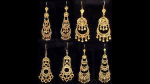 9 carat gold earrings j hook gold danglers 22 carat gold ear rings designs