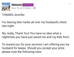 angry writes the best thank you letter to husband s