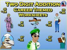 two digit addition u0026 subtraction worksheet bundle community