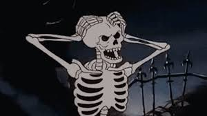 Spooky Scary Skeletons Meme - list of synonyms and antonyms of the word spooky skeleton
