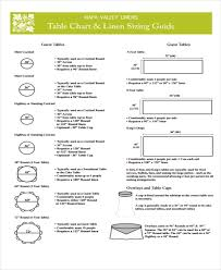 create a table chart free 5 table chart templates free sles exles format download