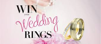 win a wedding ring win your wedding rings competition winners robert cliff master