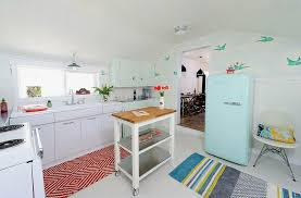 Geometric Kitchen Rug Pink Floral Wallpaper Kitchen Rugs White Cabinets And Island