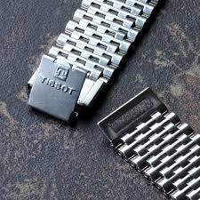 tissot bracelet links images Fs tissot vintage chronograph beads link nsa band 2 pc clasp jpg