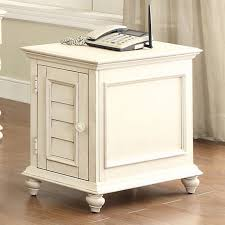 Chair Side Table With Storage Riverside Coventry Two Tone Chair Side Table Attractive Drawer