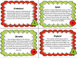 around the world creative thinking task cards
