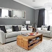 idee deco salon canap gris déco salon couleur peinture salon gris ardoise canapé gris teinte