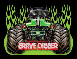 font monster font font jam font trucks grave digger