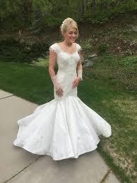 Outdoor Wedding Dresses The Winner Of The Toilet Paper Wedding Dress Contest