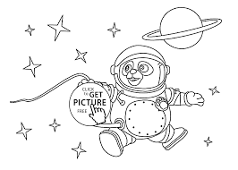 oso astronaut coloring pages for kids printable free special