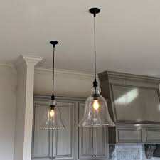 bell shaped l shades light vintage industrial furniture rustic glass pendant light
