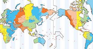 utc zone map gmt versus utc