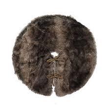 brown christmas tree skirt smith 22 faux fur tree skirt brown seasonal