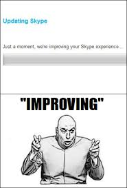 Meme Update - skype update meme by lassietheartist on deviantart