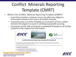 conflict minerals reporting template conflict minerals reporting template 5 professional and high