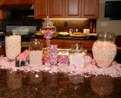 candy bar baby shower baby shower pink popcorn tootsie pops and baby shower