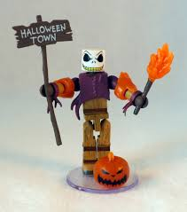 in the dark pumpkin king jack skellington minimate