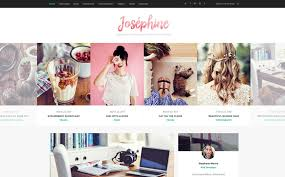 best blog themes ever the best wordpress themes website templates josephine blog theme