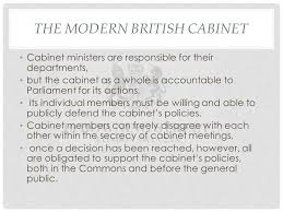 The Cabinet Members Gp4b Governing Modern Wales U2013 The Core Executive The Nature And