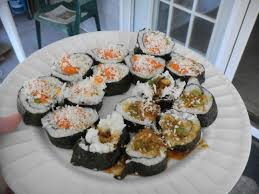 vegan sriracha mayo cheap vegan attack u2013 spicy tempura asparagus sushi with vegan