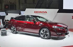 honda vehicles honda u0027s next gen clarity hydrogen cars land in california