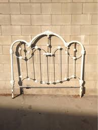 headboards iron beds and headboards full queen white metal