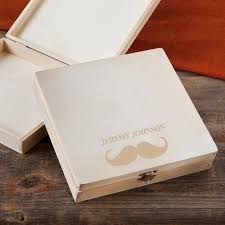 personalized box personalized wood cigar box groomsmen gifts men s wearhouse