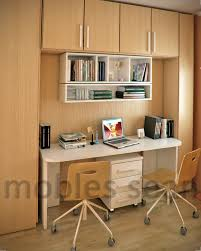 many parents are faced with the problem of furnishing small scaled small study room area with wood storage white wall shelves computer desk and swivel chairs