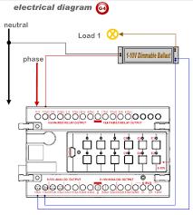 smart bus flourescent ballast 0v 10v dimmer g4 sb 6b0 10v dn