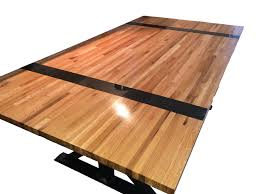 trueblock butcher block table top walnut heartwood only reclaimed boos butcher blocks restoration table with natural finish and ways to protect it