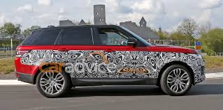 land rover sport 2017 2017 range rover sport facelift spied inside and out photos 1 of 4