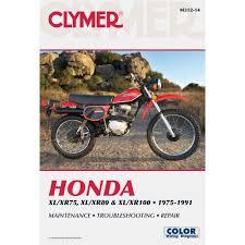 clymer honda xl xr75 100 1975 2003 service repair maintenance