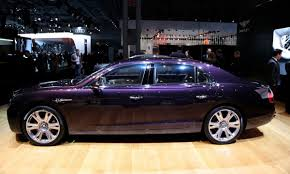 2015 purple bentley flying spur change the rims to 20