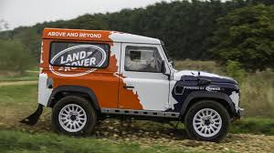 land rover defender 2013 land rover announces one make defender challenge rally series