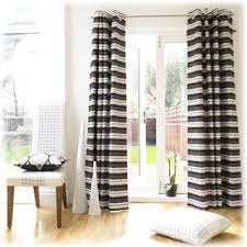 Black And White Stripe Curtains Awesome Inspirational Striped Drapes 18 In Small Home Decor