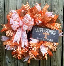 808 best wreaths college football wreaths door decor images on